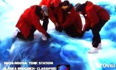 ALIENÍGENA - Encontrado Congelado no Alasca