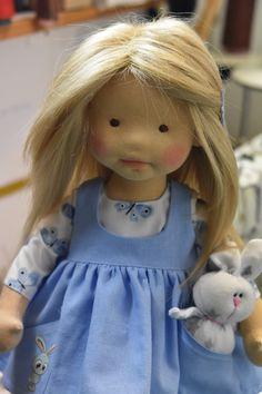 Dearlittledoll by Dearlittledoll Crochet Toys Patterns, Stuffed Toys Patterns, Doll Patterns, Felt Dolls, Baby Dolls, Crochet Dragon, Doll Costume, Doll Tutorial, Friends Fashion