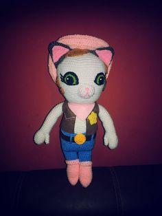 #crochet #sheriff callie #amigurumi