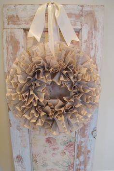 Padgett Hoke - book page wreath