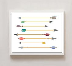 Hey, I found this really awesome Etsy listing at https://www.etsy.com/listing/130481263/multicolor-tribal-arrows-8x10-print