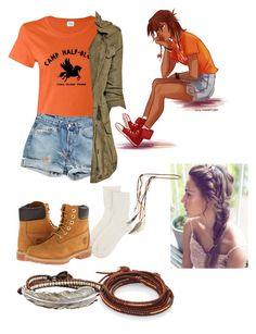 """""""Piper McLean"""" by samvee ❤ liked on Polyvore"""
