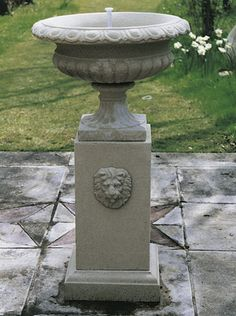 Urn & Pedestal Fountain