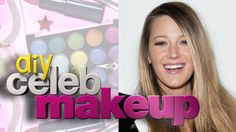 "Recreate the hottest celebrity makeup looks at home, starting with Blake Lively's subtle, peachy glow, as Wonderwall.com brings you the first installment of ""DIY Celeb Makeup."""