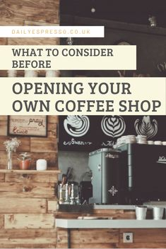 Do you live and breathe coffee? Want to turn that hobby into a side hustle? Think before you jump in, and read our guide on how to prepare for the move. Coffee Shop Interior Design, Coffee Shop Design, Cafe Design, Design Design, Opening A Cafe, Opening A Coffee Shop, Best Coffee, My Coffee, Coffee Beans