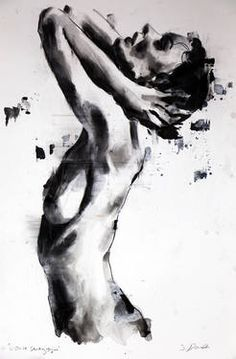 "Saatchi Art Artist: thomas donaldson; Oil 2014 Painting ""3-23-14 Head, SOLD"""