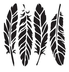 Feathers - 10 Mil Clear Mylar - Reusable Stencil Pattern Best Picture For Frame Crafts valentines For Your Taste You are looking for something, and it is going to tell you exactly what you are looking