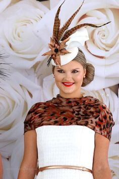 An elegant Derby hat