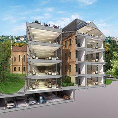 Akademia Park Officium / Vikar&Lukacs Architects Studio