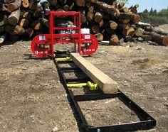 "Portable Sawmill | Oscar 121 - 21"" Portable Sawmill"