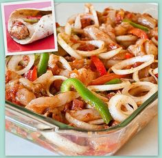 Oven Baked Fajitas! - Always nice to know a couple different ways to cook a popular dish :)