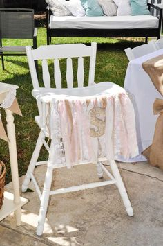 Shabby Chic Baptism Party Ideas | Photo 1 of 14 | Catch My Party