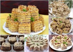 Prajituri de Casa cu Nuca - Desert De Casa - Maria Popa Krispie Treats, Rice Krispies, Gem, Caramel, Desserts, Recipes, Food, Website, Nails