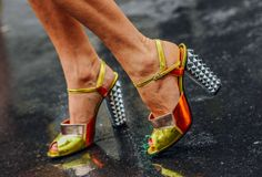 September 27, 2012  Tags Paris, Studded, Shoes, Women, Metallic, High Heels, SS13 Women's