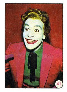 Bat Laffs Card #41- Caesar Romero as The Joker..