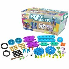 Kids First Robot Engineer Kit and Storybook *** For more information, visit