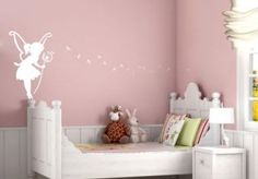 Colourful Drops Pink Wall Sticker from K&L Wall Art - beautiful wall stickers for the kids room and nursery. Simply lovely decoration, made in Europe. Wall Decal Sticker, Vinyl Wall Decals, Sticker Ideas, Bedroom Wall, Girls Bedroom, Bedroom Ideas, Girl Rooms, Fairy Bedroom, Room Girls