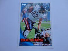 Matt Forte 2010 Topps Football Card.