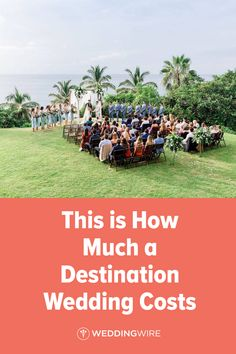 If you're in the early stages of wedding planning, you might be wondering how much a destination wedding costs. The answer might surprise you. Wedding Planner Cost, Destination Wedding Cost, Wedding Costs, Post Wedding, Wedding Planning, Simple Beach Wedding, Book A Hotel Room, Wedding Etiquette, Wedding Couples