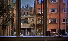 Another view of the great Rear Window back courtyard set>>>