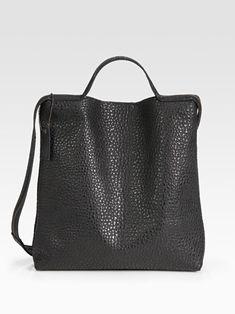 Maison Martin Margiela. Tote Bags, Sac Week End, Mode Inspiration, Mode Style, Beautiful Bags, Simply Beautiful, Fashion Bags, Leather Bag, Black Leather