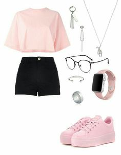 Fearsome Fashion ideas for women chic trends,Fashion ideas creative ideas and Vintage fashion ideas trends. Really Cute Outfits, Cute Swag Outfits, Cute Comfy Outfits, Edgy Outfits, Pretty Outfits, Girl Outfits, Kpop Fashion Outfits, Girls Fashion Clothes, Jeans Fashion