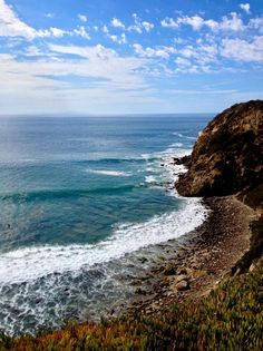 Point Dume, Malibu. The most private public beach you'll ever experience. It's a little hard to get to but totally worth it.