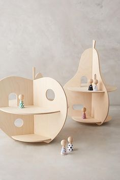 Fruit Doll House. this is such a sweet petit doll house. so unique and compact! i love the wooden fruit! wood doll house