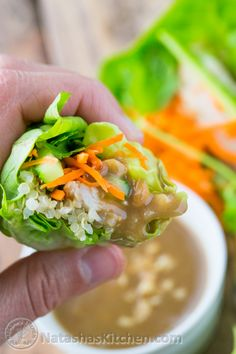 Have you tried lettuce wraps? You'll love these! P.S. this peanut sauce is boss. You'll want to hang on to this recipe!