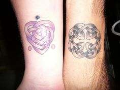 Celtic knot of motherhood and fatherhood.. Wonder if Jono would be up for this? Worth  a try!
