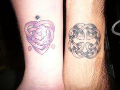 Celtic knot of motherhood and fatherhood