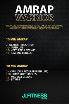 HIIT is also accountable for developing muscle mass. This is since HIIT develops endurance and triggers more blood flow with much better contractility to the muscles. Amrap Workout, Hiit, Workout Kettlebell, Kettlebell Training, Easy Workouts, At Home Workouts, Killer Workouts, Cardio Workouts, Wods Crossfit