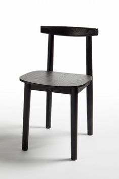 The Lola chair for Atipico by Zaven in black.