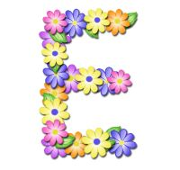 Free springy digi scrapbook alphabet Monogram Alphabet, Alphabet And Numbers, Digital Scrapbooking Freebies, Timeline Covers, All Flowers, Lettering Design, Initials, Wax, Clip Art