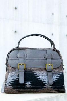 Winding Path Bag-Grey