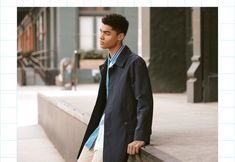 East Dane 2019 Men's Raincoats Mens Raincoat, The Fashionisto, Patterned Leggings, Sporty Look, Slim Jeans, Kenzo, Style Guides, The Man, What To Wear