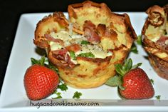 Spinach-And-Fontina Strata is the perfect brunch for a crowd | More ...