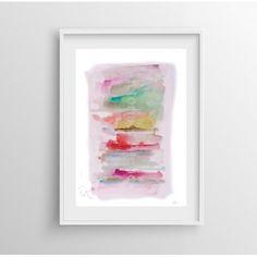 Impresión Giclée arte abstracto con papel ecofriendly Victoria Atelier