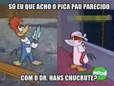 Resultado de imagem para memes do pica pau