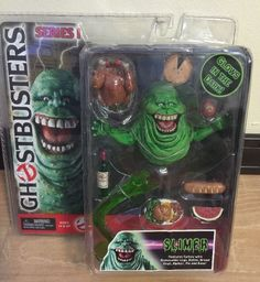 RARE Ghostbusters Series 1 Action Figure Slimer | eBay