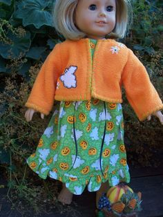 American Girl Doll Clothes  Halloween by KingsLittleBlessings, $14.00