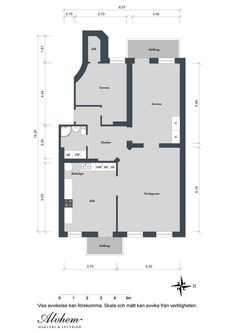 Charming Decorative Elements in a Vivid Scandinavian Apartment