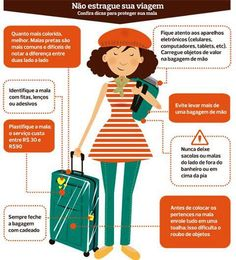 #FicaDica: #Dicas para você proteger sua #mala em sua #viagem de #férias                                                                                                                                                     Mais