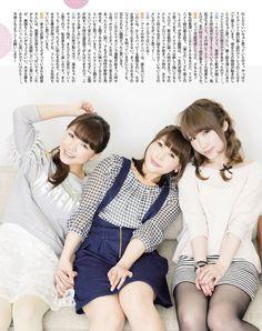 Mimorin, Emi Nitta and Aya Uchida