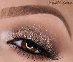 glitter is stila magnificent metals glitter eyeshadow and smokey storm
