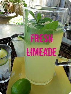Make homemade limeade.