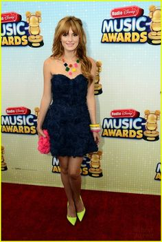 bella thorne rdma 2013 01, Bella Thorne meets up with Austin Mahone on the carpet at the 2013 Radio Disney Music Awards held at Nokia Theatre L.A. LIVE in Los Angeles on Saturday afternoon…
