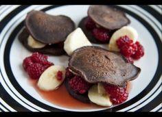 Marcus Samuelsson: Silver Dollar Chocolate Pancakes