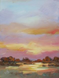 TOM BROWN FINE ART: SKY PAINTING BY TOM BROWN