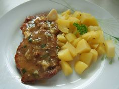 Mashed Potatoes, Pork, Chinese, Beef, Treats, Ethnic Recipes, Czech Recipes, Cooking, Whipped Potatoes
